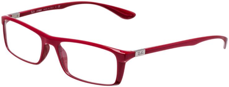 PRESCRIPTION-GLASSES-MODEL-RAY-BAN-LITEFORCE-RB-7035-RED-45