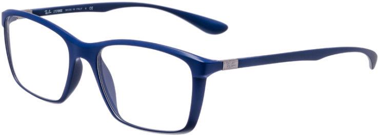 PRESCRIPTION-GLASSES-MODEL-RAY-BAN-LITEFORCE-RB-7036-MATTE-BLUE-45