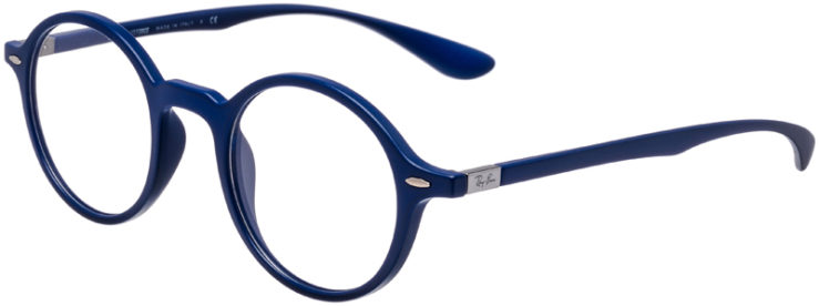 PRESCRIPTION-GLASSES-MODEL-RAY-BAN-LITEFORCE-RB-7069-MATTE-BLUE-45