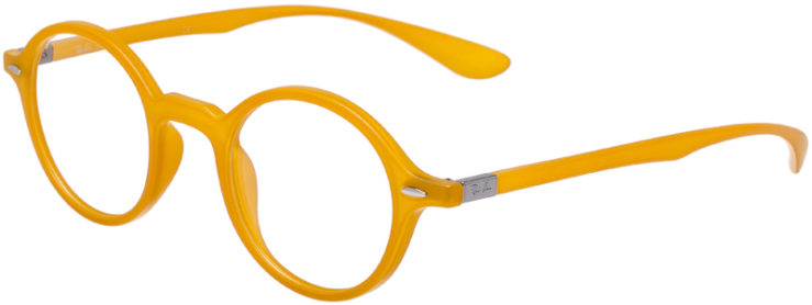 PRESCRIPTION-GLASSES-MODEL-RAY-BAN-LITEFORCE-RB-7069-MATTE-YELLOW-45