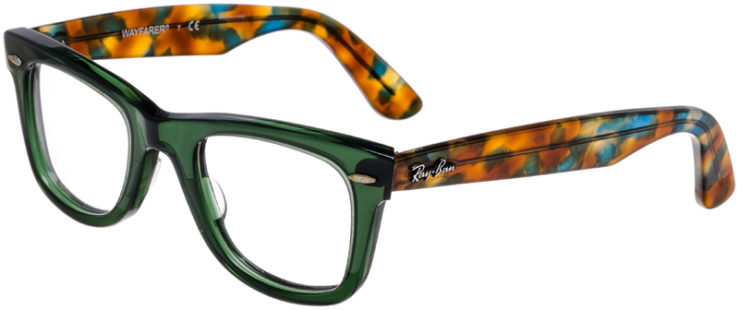 PRESCRIPTION-GLASSES-MODEL-RAY-BAN-RB-5121-GREEN-TORTOISE-45
