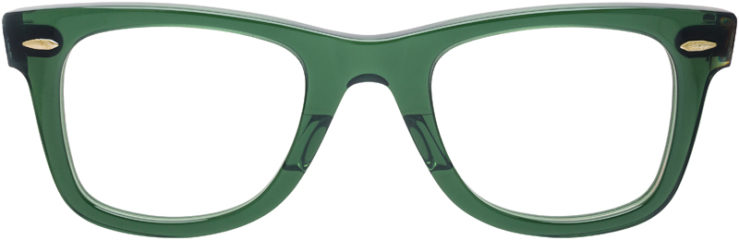 PRESCRIPTION-GLASSES-MODEL-RAY-BAN-RB-5121-GREEN-TORTOISE-FRONT