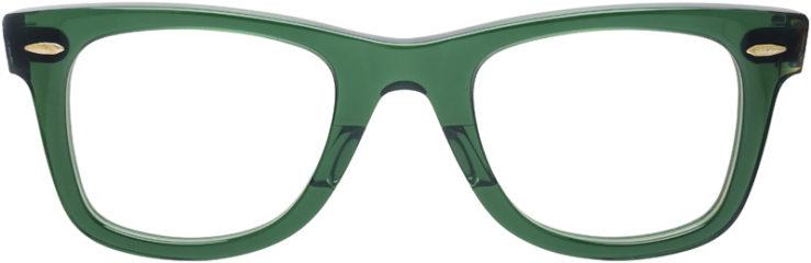 PRESCRIPTION-GLASSES-MODEL-RAY-BAN-RB-5121-GREEN-TORTOISE-FRONT