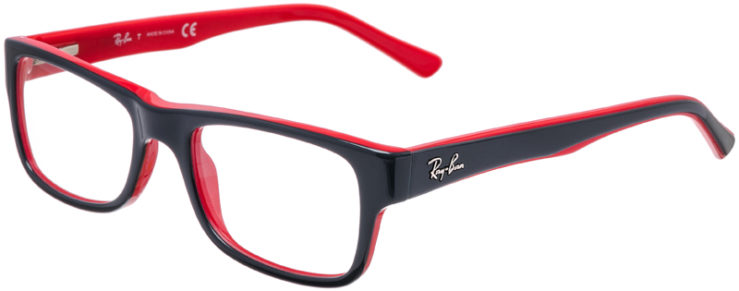 PRESCRIPTION-GLASSES-MODEL-RAY-BAN-RB-5268-GREY-RED-45