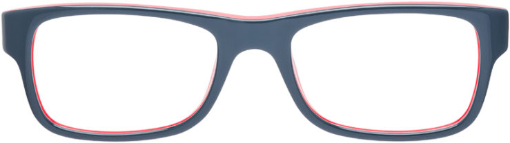 PRESCRIPTION-GLASSES-MODEL-RAY-BAN-RB-5268-GREY-RED-FRONT