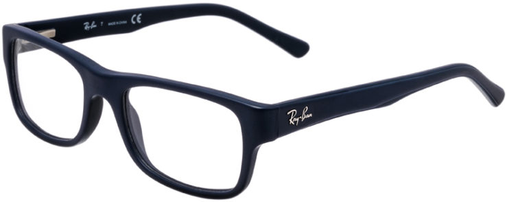 PRESCRIPTION-GLASSES-MODEL-RAY-BAN-RB-5268-MATTE-NAVY-45