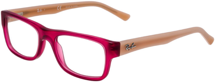 PRESCRIPTION-GLASSES-MODEL-RAY-BAN-RB-5268-MATTE-PINK-45