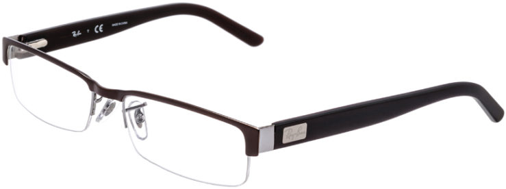 PRESCRIPTION-GLASSES-MODEL-RAY-BAN-RB-6182-BRONZE-45