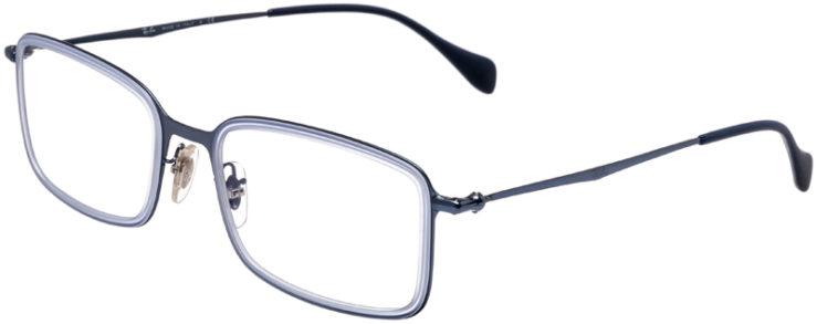 PRESCRIPTION-GLASSES-MODEL-RAY-BAN-RB-6298-METALLIC-BLUE-45