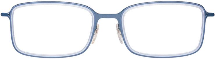 PRESCRIPTION-GLASSES-MODEL-RAY-BAN-RB-6298-METALLIC-BLUE-FRONT