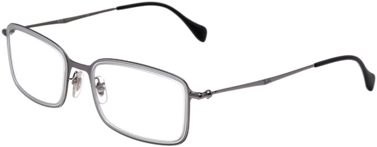 PRESCRIPTION-GLASSES-MODEL-RAY-BAN-RB-6298-STAINLESS-STEEL-45