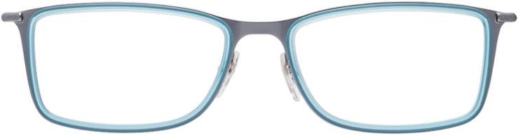 PRESCRIPTION-GLASSES-MODEL-RAY-BAN-RB-6299-METALLIC-AQUA-FRONT