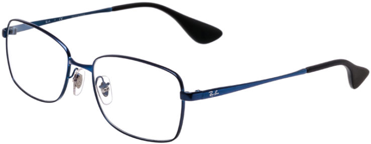 PRESCRIPTION-GLASSES-MODEL-RAY-BAN-RB-6336M-METALLIC-BLUE-45