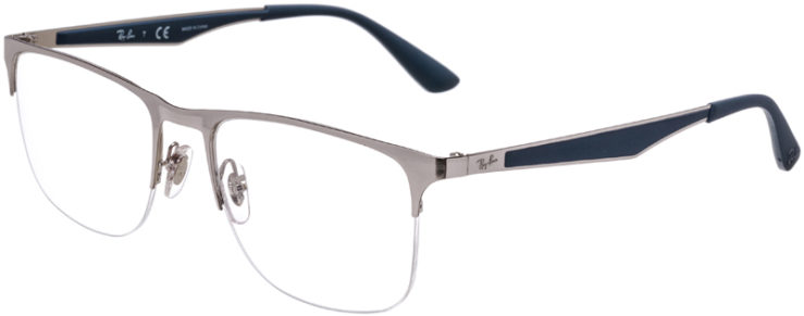 PRESCRIPTION-GLASSES-MODEL-RAY-BAN-RB-6362-SILVER-BLUE-45