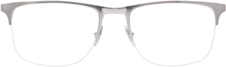 PRESCRIPTION-GLASSES-MODEL-RAY-BAN-RB-6362-SILVER-BLUE-FRONT