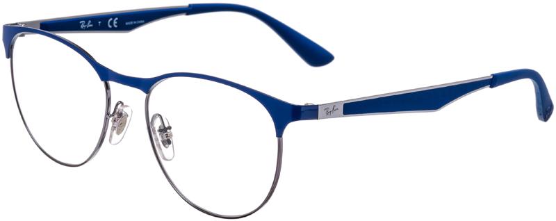 d52cd63decd PRESCRIPTION-GLASSES-MODEL-RAY-BAN-RB-6365-GUNMETAL BLUE-