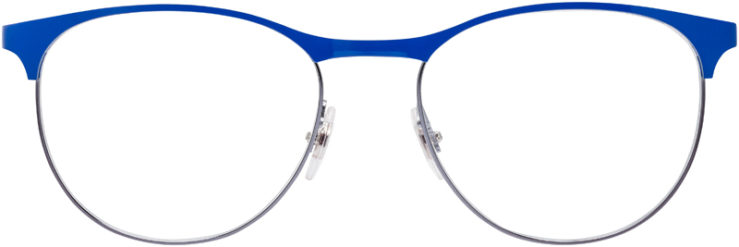 PRESCRIPTION-GLASSES-MODEL-RAY-BAN-RB-6365-GUNMETAL_BLUE-FRONT