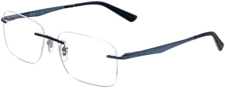PRESCRIPTION-GLASSES-MODEL-RAY-BAN-RB-6385I-METALLIC-BLUE-45