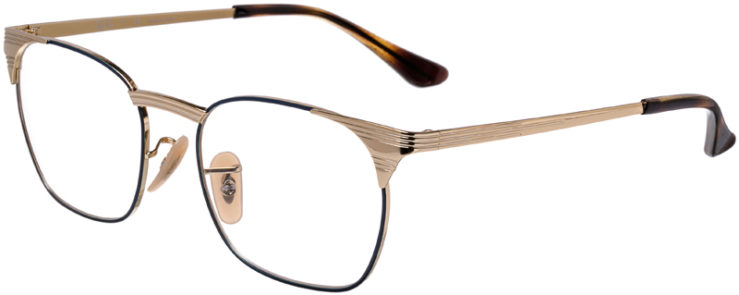 PRESCRIPTION-GLASSES-MODEL-RAY-BAN-RB-6386-GOLD-BLUE-45