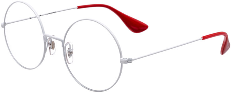 PRESCRIPTION-GLASSES-MODEL-RAY-BAN-RB-6392-WHITE-RED-45
