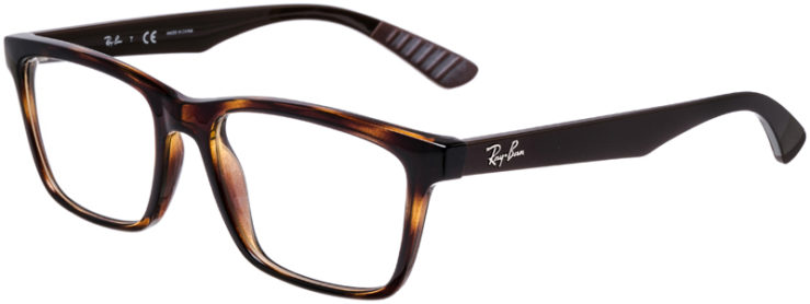 PRESCRIPTION-GLASSES-MODEL-RAY-BAN-RB-7025-TORTOISE-BROWN-45