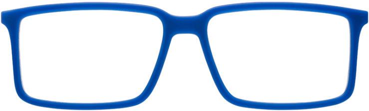 PRESCRIPTION-GLASSES-MODEL-RAY-BAN-RB-7043-MATTE-BLUE-FRONT