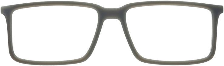 PRESCRIPTION-GLASSES-MODEL-RAY-BAN-RB-7043-MATTE-GREY-FRONT