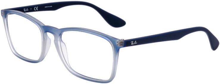 PRESCRIPTION-GLASSES-MODEL-RAY-BAN-RB-7045-BLUE-GRADIENT-45