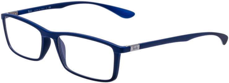 PRESCRIPTION-GLASSES-MODEL-RAY-BAN-RB-7048-MATTE-BLUE-45