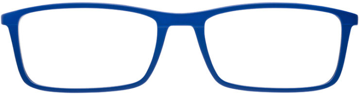 PRESCRIPTION-GLASSES-MODEL-RAY-BAN-RB-7048-MATTE-BLUE-FRONT