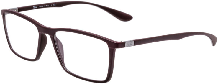 PRESCRIPTION-GLASSES-MODEL-RAY-BAN-RB-7049-MATTE-BURGUNDY-45