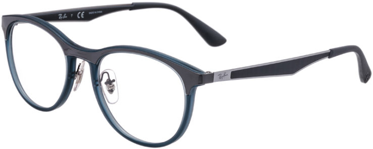 PRESCRIPTION-GLASSES-MODEL-RAY-BAN-RB-7116-GREY_MATTE-GREY-45