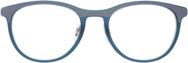 PRESCRIPTION-GLASSES-MODEL-RAY-BAN-RB-7116-GREY_MATTE-GREY-FRONT