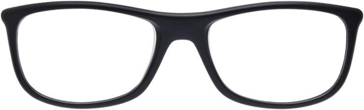 PRESCRIPTION-GLASSES-MODEL-RAY-BAN-RB-8951-MATTE-BLACK–FRONT