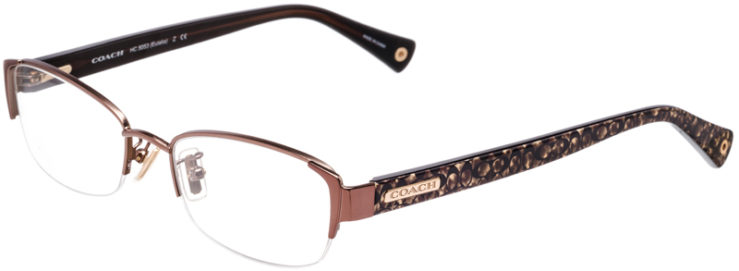 PRESCRIPTION-GLASSES-MODEL-COACH-HC-5053-(EULALIA)-SAND-BEIGE-OCELOT-SIG-C-45