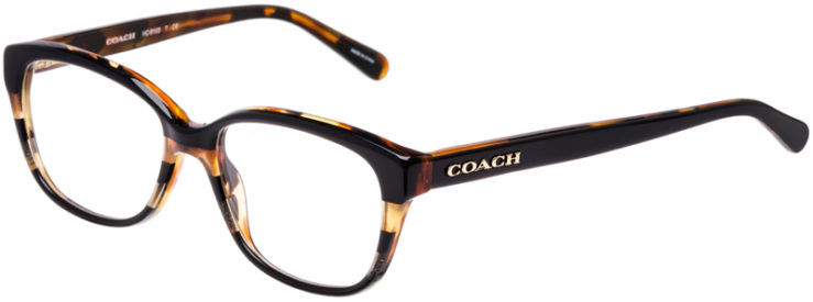 PRESCRIPTION-GLASSES-MODEL-COACH-HC-6103-BLACK-TORT-GLTR-VARSITY-STRIPE-45