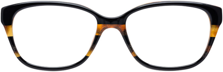 PRESCRIPTION-GLASSES-MODEL-COACH-HC-6103-BLACK-TORT-GLTR-VARSITY-STRIPE-FRONT