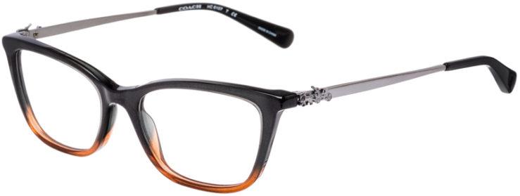 PRESCRIPTION-GLASSES-MODEL-COACH-HC-6107-BLACK-AMBER-GLITTER-GRADIENT-45