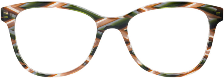 PRESCRIPTION-GLASSES-MODEL-PRADA-VPR-12T-TORTOISE-GREEN-FRONT