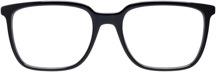 PRESCRIPTION-GLASSES-MODEL-PRADA-VPR-17T-BLACK-FRONT