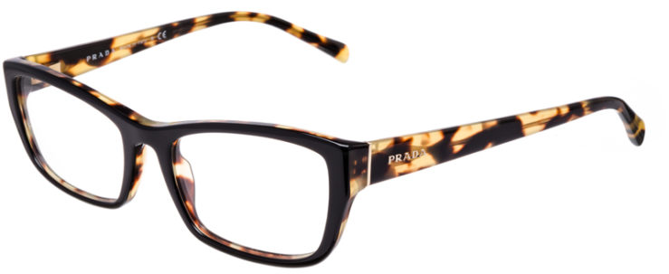 PRESCRIPTION-GLASSES-MODEL-PRADA-VPR-18O-BLACK-TORTOISE-45
