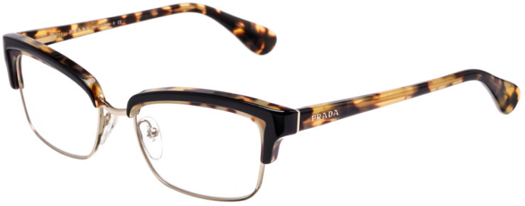 PRESCRIPTION-GLASSES-MODEL-PRADA-VPR-21P-TORTOISE-BLACK-GOLD-45