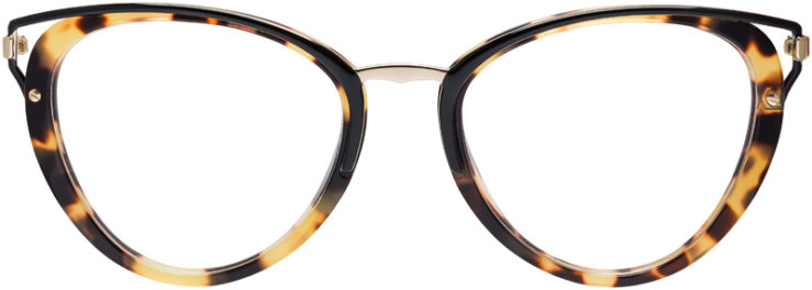 PRESCRIPTION-GLASSES-MODEL-PRADA-VPR-53U-TORTOISE-FRONT