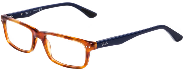 PRESCRIPTION-GLASSES-MODEL-RAYBAN-RB-5277-HAVANA-TORTOISE-BLUE-45