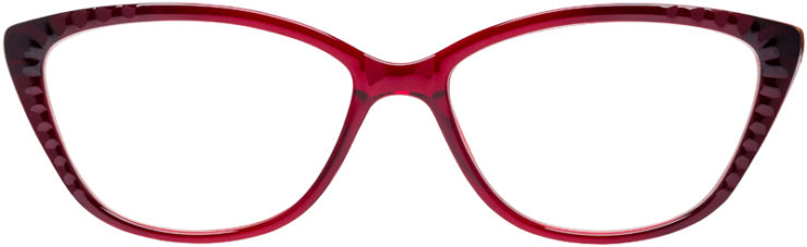 PRESCRIPTION-GLASSES-MODEL-U-209-BURGUNDY-FRONT
