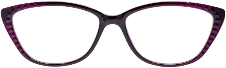 PRESCRIPTION-GLASSES-MODEL-U-209-PURPLE-FRONT