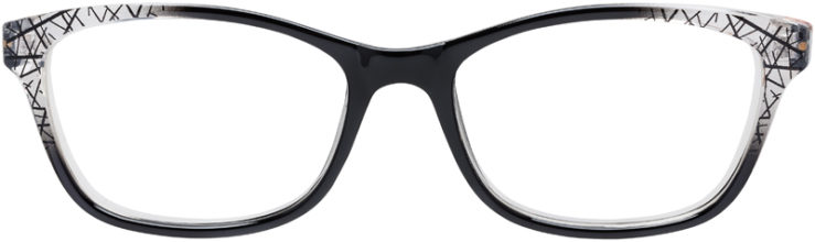 PRESCRIPTION-GLASSES-MODEL-U-212-BLACK-FRONT