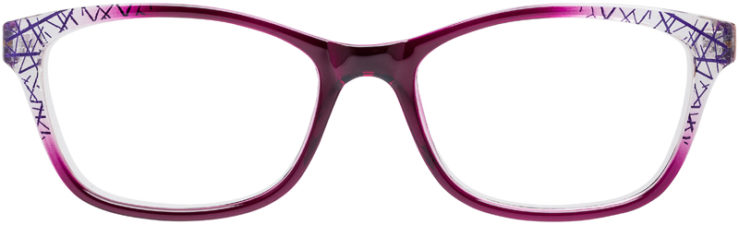 PRESCRIPTION-GLASSES-MODEL-U-212-PURPLE-FRONT