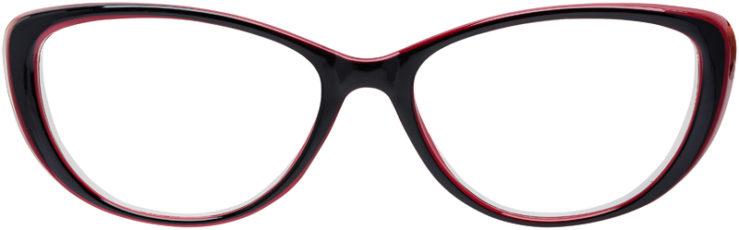 PRESCRIPTION-GLASSES-MODEL-US-89-BLACK-BURGUNDY-FRONT