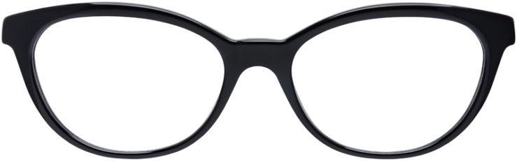 PRESCRIPTION-GLASSES-MODEL-VERSACE-MOD.3219-Q-BLACK-FRONT